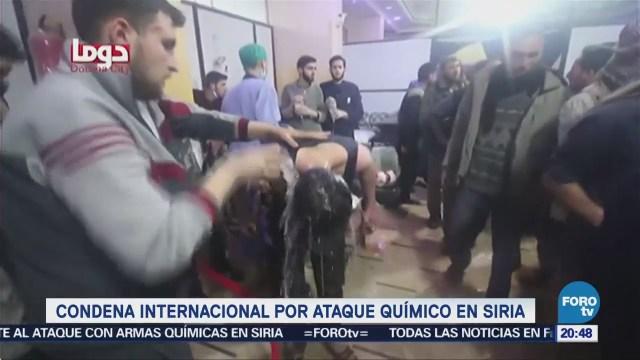 Noticias, Televisa News, Condena, internacional, ataque químico, Siria