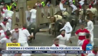 Condenan a 5 hombres a 9 años de prisión por abuso sexual en España