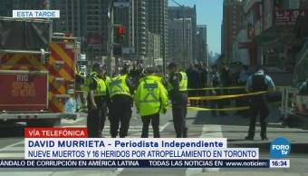Confirman 9 Muertos 16 Heridos Atropellamiento Toronto