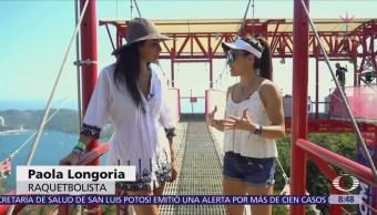 Conociendoa la raquetbolista mexicana Paola Longoria