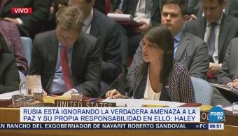 Consejo de Seguridad de la ONU analiza la situación de Siria