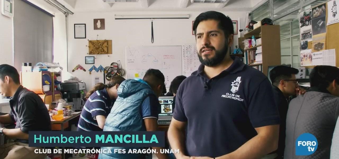 Crean club multidisciplinario de mecatrónica en la FES Aragón