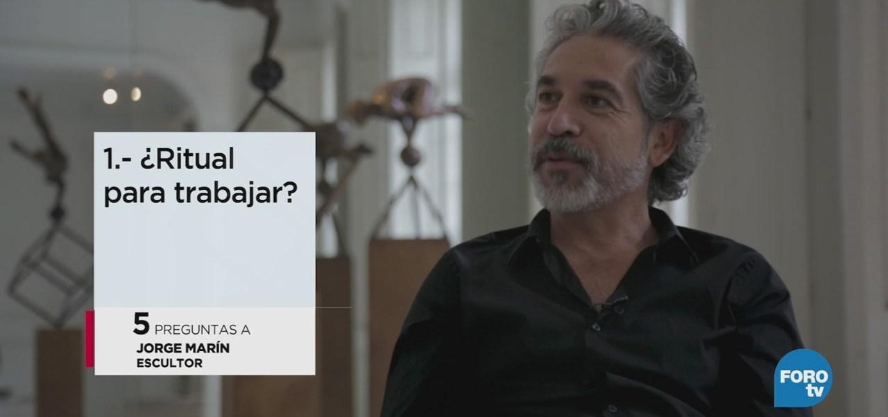 Las 5 preguntas a Jorge Marín