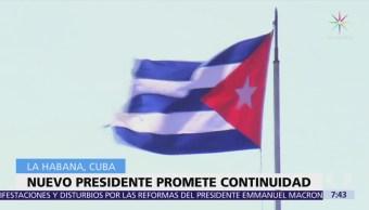 Cuba amanece con nuevo presidente de generación que ha salvaguardado la Revolución