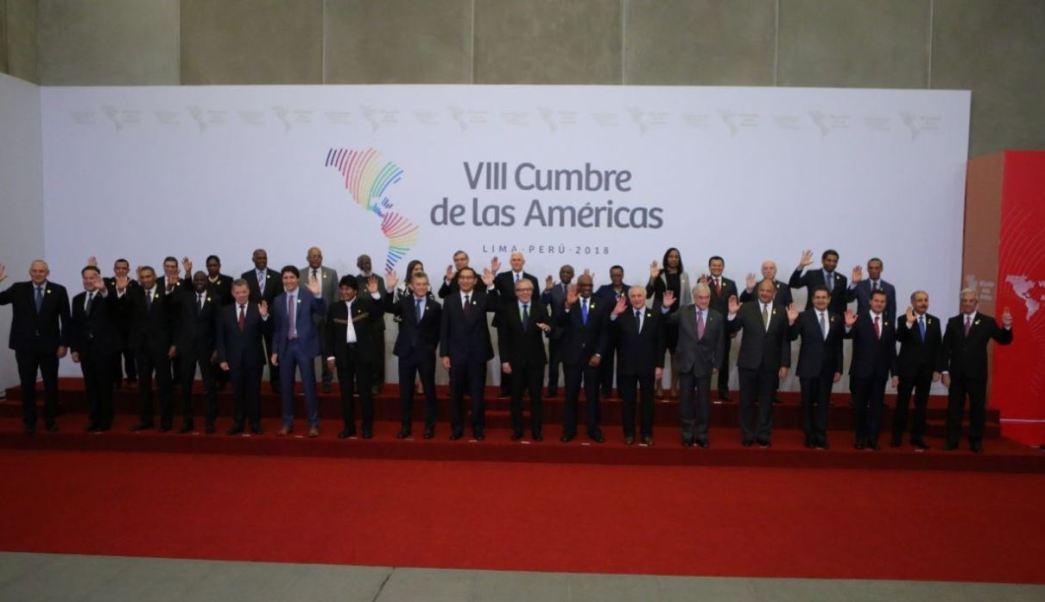 cumbre americas compromiso corrupcion peru vizcarra