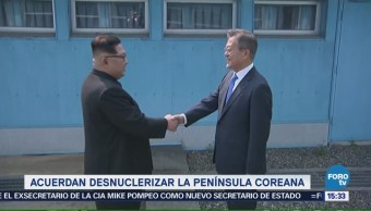 Cumbre Histórica Entre Dos Coreas