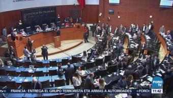 Denuncian alianza PRI-Morena en el Senado por comisionados del INAI