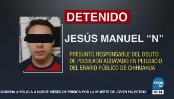 Deportan a México al exsecretario particular del exgobernador César Duarte