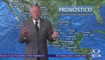 Despierta con Tiempo: Lluvias y altas temperaturas en la mayor parte de México