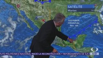 Despierta con Tiempo: Lluvias y calor en la mayor parte de México