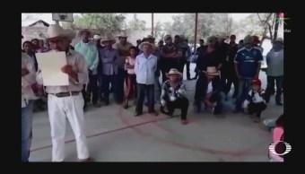 Desplazados acusan a cómplices de criminales de San Miguel Totolapan