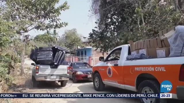 Desplazados Crimen Organizado Instalan Excampamento Militar Guerrero
