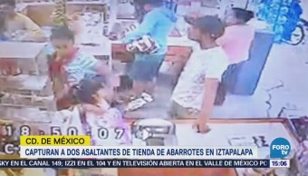 Detienen Dos Personas Robo Negocio Iztapalapa