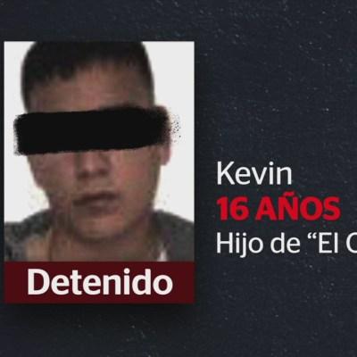Detienen a 'Kevin', hijo de 'El Ojos'