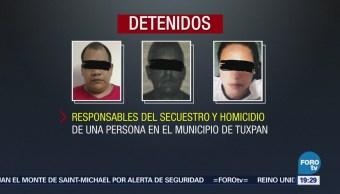 Detienen Presuntos Secuestradores Tuxpan, Veracruz