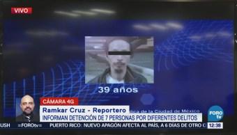 Detienen a un presunto secuestrador en Cuauhtémoc, CDMX
