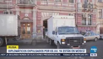 Diplomáticos Expulsados Estados Unidos Están Moscú