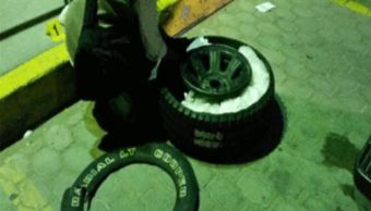 Policía Federal asegura 20 kg de droga sintética en Baja California
