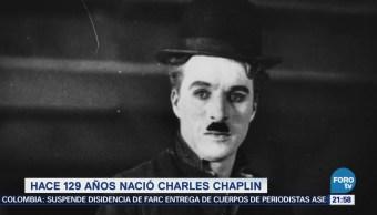 Efeméride En Una Hora Charles Chaplin