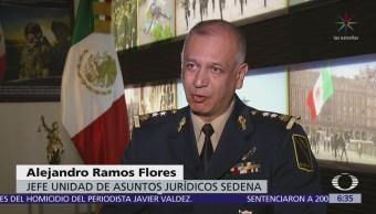 Ejército reitera que no estuvo vinculado a desaparición de normalistas