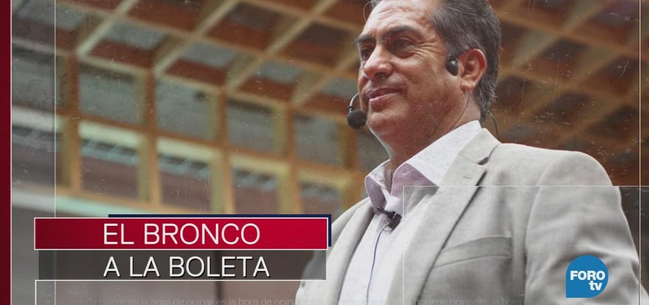 Polémica por candidatura de El Bronco