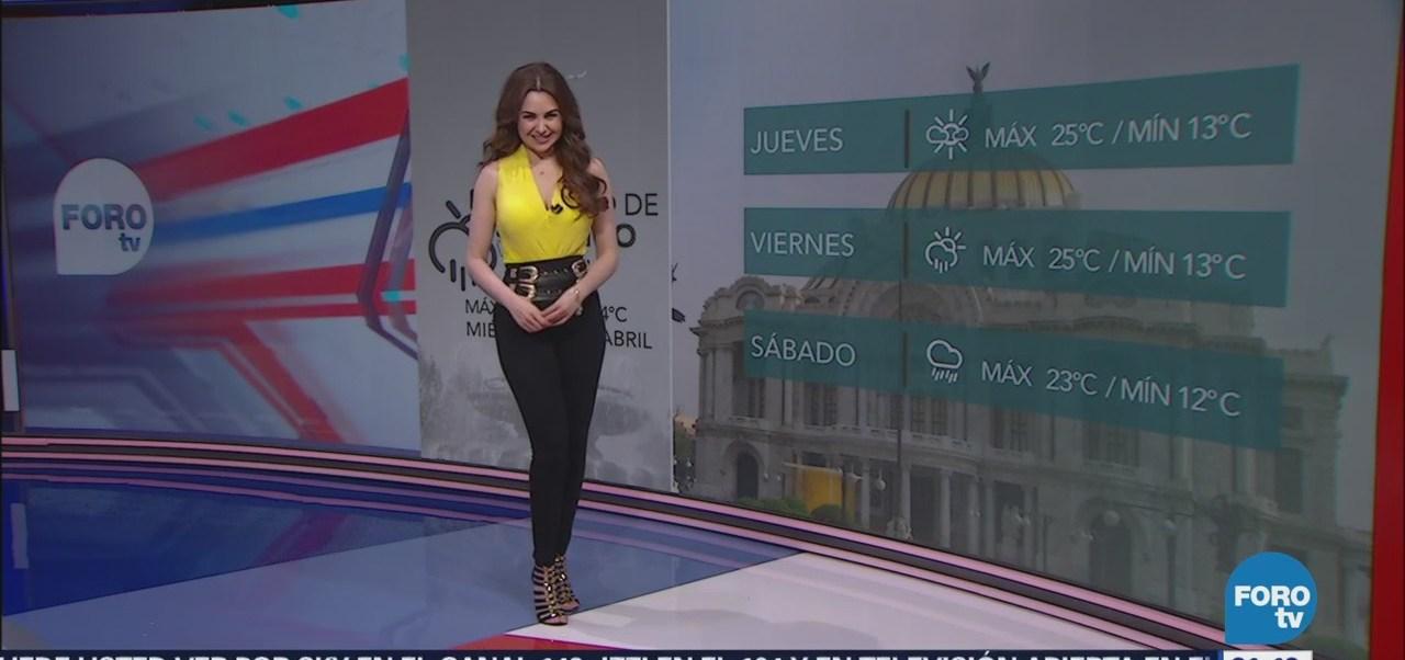 Clima Mayte Carranco Las Noticias Lluvias Temperatura