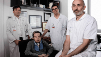 Por primera en la historia un hombre recibe dos trasplantes de cara