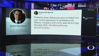 Futbol Une Epn Trump México Estados Unidos