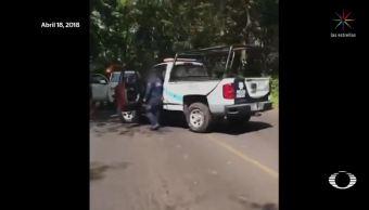 Policías de Catemaco emboscan a agentes de la AIC
