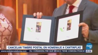 Emilio Azcárraga Jean Timbre Postal Cantinflas