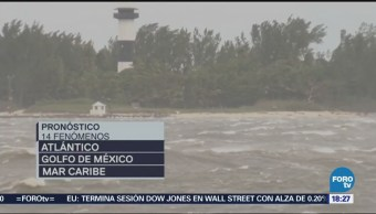 Emiten Pronóstico Ciclones Veracruz