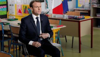 Macron: Tenemos pruebas de que el régimen sirio utilizó armas químicas