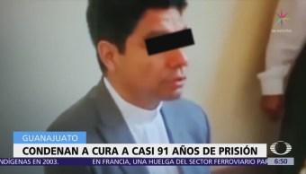 En Guanajuato, condenan a sacerdote a casi 91 años de prisión por violación