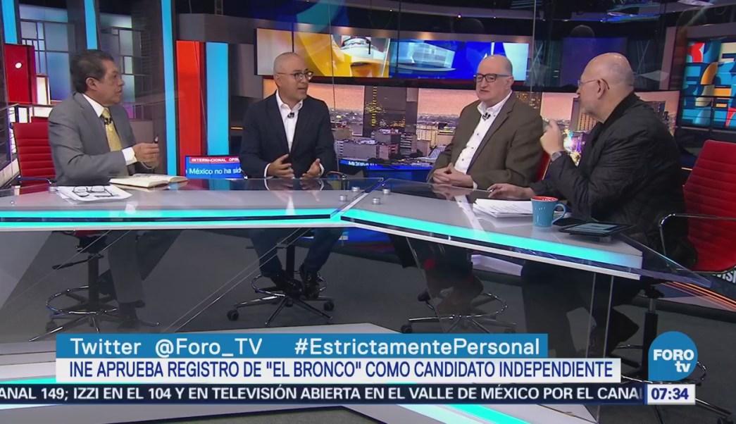 Encuestadores: Impacto mínimo de 'El Bronco' en preferencias tras aprobación de candidatura