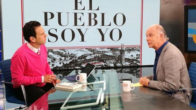 Enrique Krauze: El libro 'El Pueblo Soy Yo' no es contra López Obrador