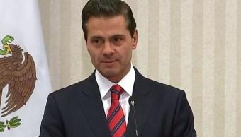 Negociaciones del TLCAN avanzan a buen ritmo, afirma Peña Nieto