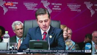 EPN pide restauración de democracia en Venezuela