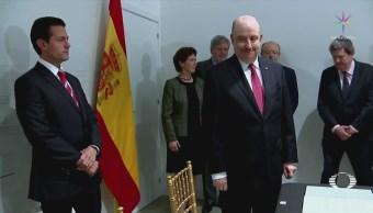 Epn Termina Gira Trabajo Europa Alemania España