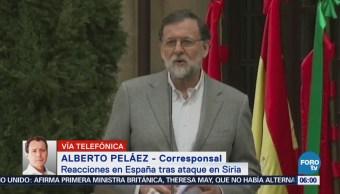España apoya ofensiva contra Siria