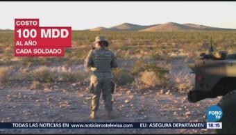 Estados Unidos Despliega Guardia Nacional Frontera Sur