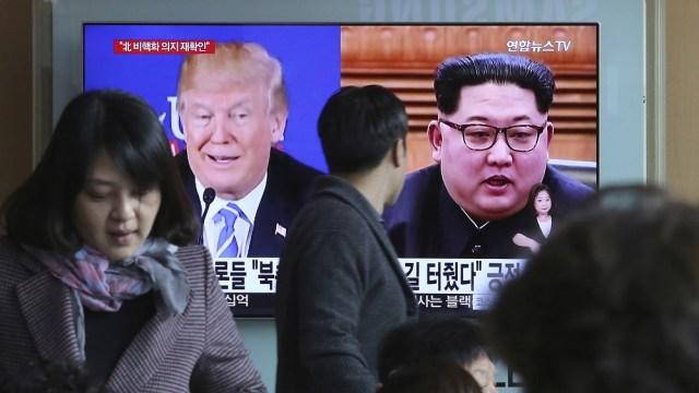 Estados Unidos y Norcorea preparan cumbre Trump Kim