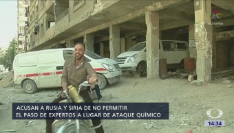 Eu Acusa Rusia Obstaculizar Expertos Siria