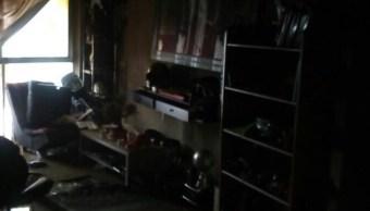 Se registra explosión en departamento en Álvaro Obregón; no hay heridos