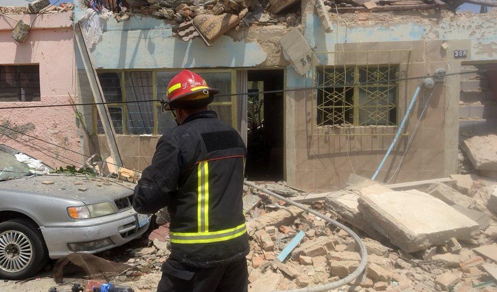 Explosión por acumulación de gas en casa de Zapopan