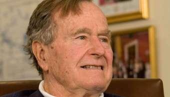 Expresidente George H W Bush se recupera hospitalización
