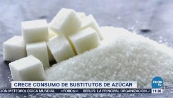 Extra Extra: Crece consumo de sustitutos de azúcar