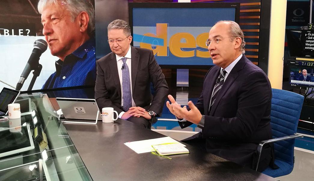 Felipe Calderón habla de los candidatos a la Presidencia en Despierta
