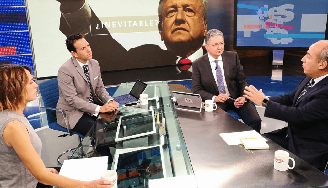 Felipe Calderón defiende pensión a expresidentes y advierte contra ideas de AMLO