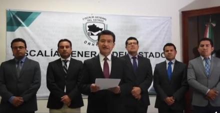 Fiscal de Oaxaca habla de irregularidades en caso de menor fallecido