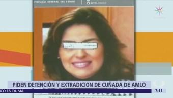 Fiscalía Veracruz acusa a cuñada de AMLO de daño patrimonial al Estado